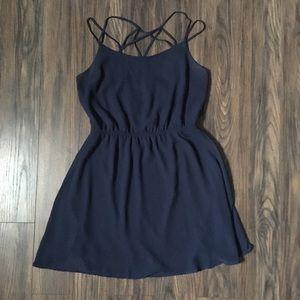 Cute Navy Blue Summery Dress